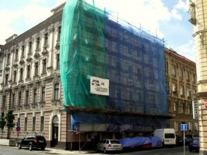 1. Oprava fasády a ozdobných architektonických prvků v Praze_Starwork