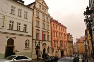 1. Oprava fasády Hotelu v pražské Nerudově ulici