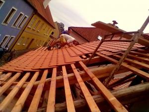 3. Rekonstrukce historické střechy v Třebíči chráněné UNESCO_Starwork
