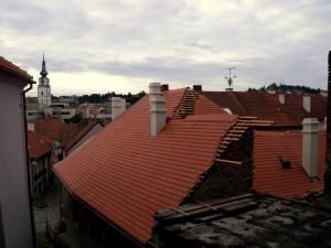 4. Rekonstrukce historické střechy v Třebíči chráněné UNESCO_Starwork