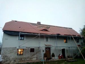 Rekonstrukce střechy Trhový Štěpánov_Starwork_1