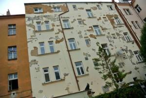 2. Oprava fasády dvora a klempířských prvků Hotelu v Pražské ulici Malá Štěpánská.
