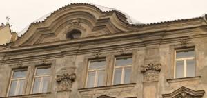 2. Oprava havarijní fasády a prejzové střechy na nábřeží v Praze_Starwork.cz