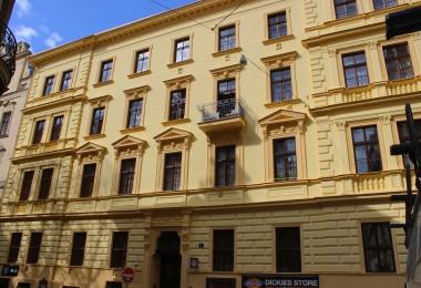 rekonstrukce fasády v památkové zóně