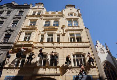 Rekonstrukce secesní fasády