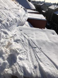 Odstraňování sněhu ze střech Praha STARWORK 3