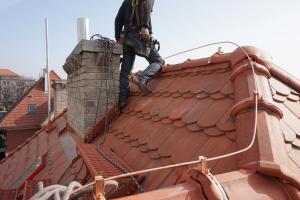 Rekonstrukce střechy prvorepublikové vily STARWORK 1