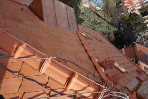 Rekonstrukce střechy prvorepublikové vily STARWORK 10