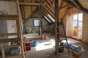 Rekonstrukce střechy prvorepublikové vily STARWORK 12