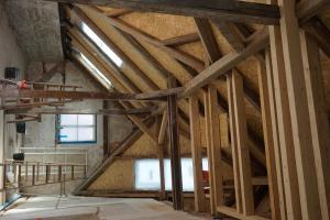 Rekonstrukce střechy prvorepublikové vily STARWORK 13