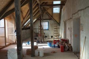 Rekonstrukce střechy prvorepublikové vily STARWORK 14