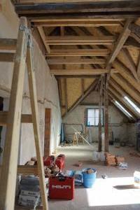 Rekonstrukce střechy prvorepublikové vily STARWORK 16