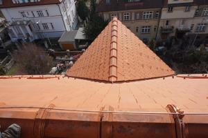 Rekonstrukce střechy prvorepublikové vily STARWORK 2