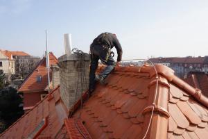 Rekonstrukce střechy prvorepublikové vily STARWORK 3