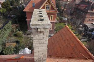 Rekonstrukce střechy prvorepublikové vily STARWORK 5