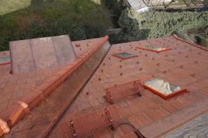 Rekonstrukce střechy prvorepublikové vily STARWORK 7