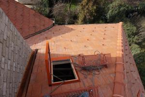 Rekonstrukce střechy prvorepublikové vily STARWORK 8