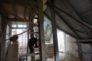 Rekonstrukce střechy vily STARWORK 11