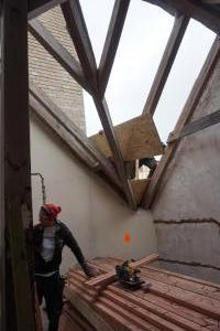 Rekonstrukce střechy vily STARWORK 13
