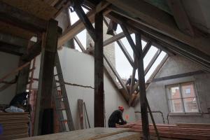 Rekonstrukce střechy vily STARWORK 14