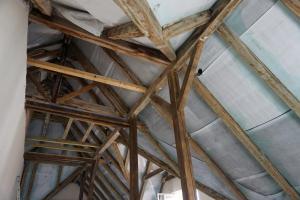 Rekonstrukce střechy vily STARWORK 2