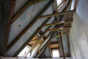 Rekonstrukce střechy vily STARWORK 7