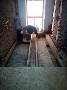 Starwork rekonstrukce Strahovského kláštera 4b