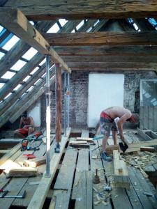 Starwork rekonstrukce Strahovského kláštera 8